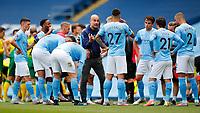 Football - 2019 / 2020 Premier League - Manchester City vs Norwich City<br /> <br /> Manchester City Manager Josep Guardiola  at the Etihad Stadium.<br /> <br /> COLORSPORT/LYNNE CAMERON