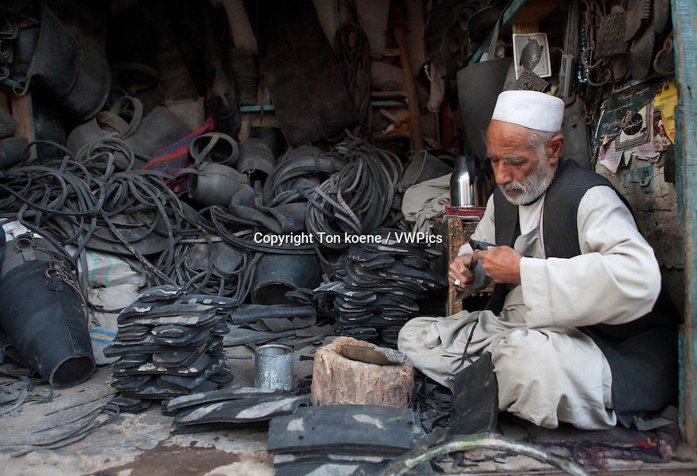 shoe-shop in herat, Afghanistan