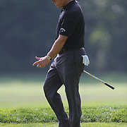 Phil Mickelson during the ProAm at The Barclays Golf Tournament at The Ridgewood Country Club, Paramus, New Jersey, USA. USA. 20th August 2014. Photo Tim Clayton