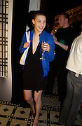 July Tania Mallet, Ben Grimes, Burberry party to launch perfume. the Old In and Out club, Piccadilly. 22/9/03 © Copyright Photograph by Dafydd Jones 66 Stockwell Park Rd. London SW9 0DA Tel 020 7733 0108 www.dafjones.com