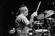 "Graham ""Broadie"" Broad playing the drums for Bill Wyman at Fabrik, Hamburg."