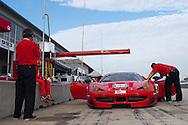 #62 Risi Competizione Ferrari F458 Italia: Olivier Beretta,Matteo Malucelli