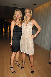 Left to right, MELISSA ODABASH and TANYA BRYER at a party to celebrate the launch of the Suka restaurant at the Sanderson Hotel, berners Street, London on 15th March 2007.<br /><br />NON EXCLUSIVE - WORLD RIGHTS