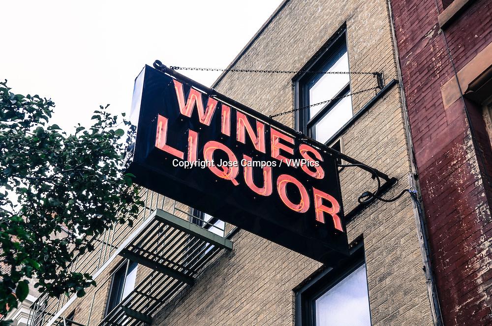 Liquor Store. Soho, NYC
