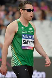 17/07/2017 : Jason Smyth (IRL), T13, Men's 200m, at the 2017 World Para Athletics Championships, Olympic Stadium, London, United Kingdom