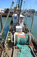 Commercial fishing boat, Fisherman's Wharf, San Francisco, California, USA, 201304131284<br /> <br /> Copyright Image from Victor Patterson, 54 Dorchester Park, Belfast, UK, BT9 6RJ<br /> <br /> Tel: +44 28 9066 1296<br /> Mob: +44 7802 353836<br /> Voicemail +44 20 8816 7153<br /> Skype: victorpattersonbelfast<br /> Email: victorpatterson@me.com<br /> Email: victorpatterson@ireland.com (back-up)<br /> <br /> IMPORTANT: If you wish to use this image or any other of my images please go to www.victorpatterson.com and click on the Terms & Conditions. Then contact me by email or phone with the reference number(s) of the image(s) concerned.