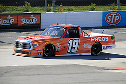 March 23, 2019 - Martinsville, VA, U.S. - MARTINSVILLE, VA - MARCH 23:  #19: Derek Kraus, Bill McAnally Racing, Toyota Tundra ENEOS/NAPA FILTERS  during qualifying for the NASCAR Gander Outdoors Truck Series TruNorth Global 250 race on March 23, 2019 at the Martinsville Speedway in Martinsville, VA.  (Photo by David J. Griffin/Icon Sportswire) (Credit Image: © David J. Griffin/Icon SMI via ZUMA Press)
