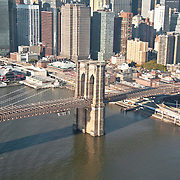 Brooklyn Bridge by Helicopter