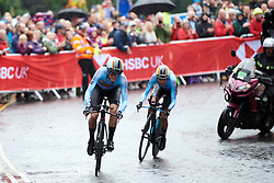 Julie van de Velde (BEL) at UCI Road World Championships 2019 Mixed Relay a 27.6 km team time trial in Harrogate, United Kingdom on September 22, 2019. Photo by Sean Robinson/velofocus.com