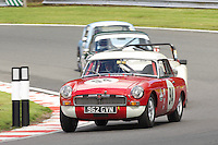 HSCC Gold Cup Oulton Park, Cheshire, United Kingdom.  28th-29th August 2011.  Race 3 HSCC Historic Road Sports. Supported by Moss Europe Ltd. 94 Nicholas Sleep MGB. World Copyright: Peter Taylor/PSP. Copy of publication required for printed pictures. Every used picture is fee-liable.