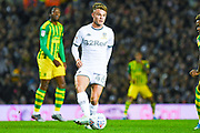 Leeds United midfielder Jamie Shackleton (46) passes the ball during the EFL Sky Bet Championship match between Leeds United and West Bromwich Albion at Elland Road, Leeds, England on 1 October 2019.