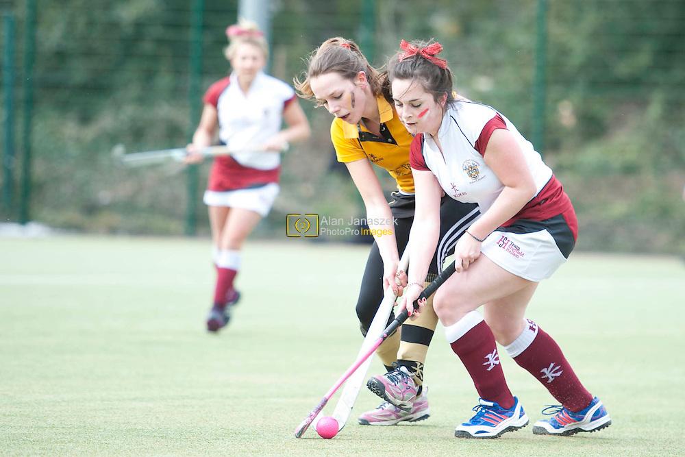 University of Sheffield Hockey 3 (Women) v Sheffield Hallam