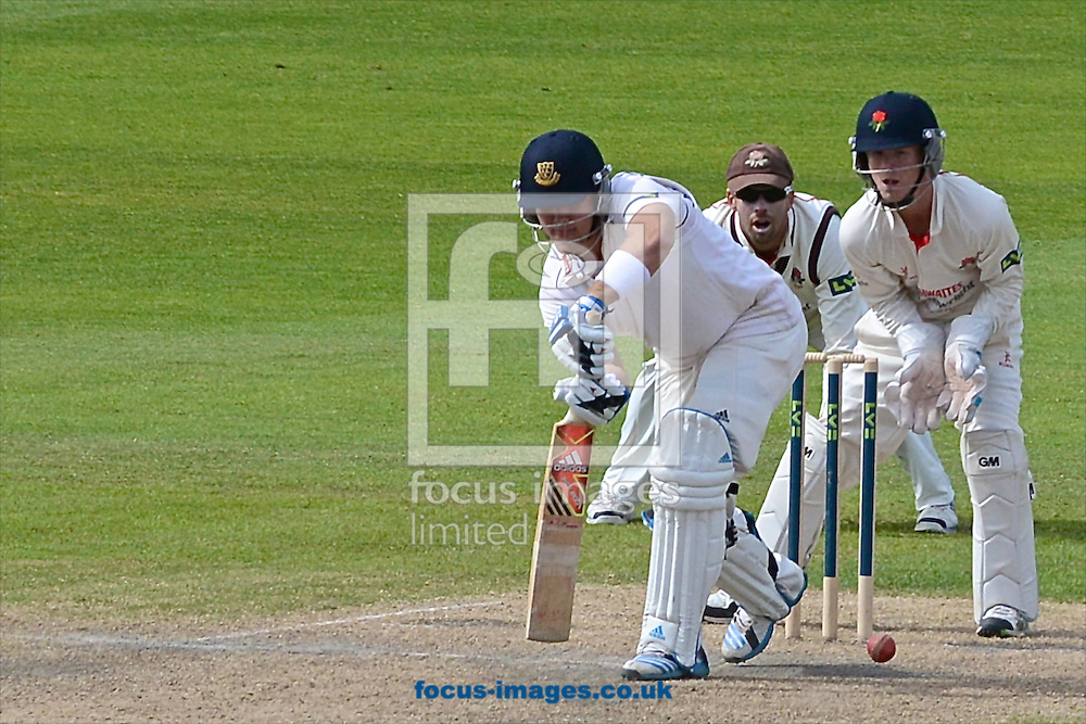 Rory Hamilton-Brown of Sussex County Cricket Club during the LV County Championship Div One match at Old Trafford Cricket Ground, Stretford<br /> Picture by Ian Wadkins/Focus Images Ltd +44 7877 568959<br /> 06/05/2014