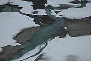 Gletscherbach - Das Schmelzwasser kommt von der Pasterze (Gletscher am Großglockner) ist mit etwas mehr als 8 km Länge der größte Gletscher Österreichs und der längste der Ostalpen. Nationalpark Hohe Tauern, Österreich