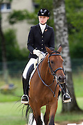 Anastasiya Dudkova - Demagog<br /> FEI European Championships Dressage Juniors and Young Riders 2012<br /> © DigiShots