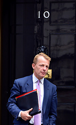 © Licensed to London News Pictures. 11/09/2012. Westminster, UK. (L)David Laws the Minister of State for Schools and the Cabinet Office. MP's arrive for Cabinet at number 10 Downing Street today 11/09/12. Photo credit : Stephen Simpson/LNP
