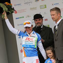 Amy Pieters wins Younthklassement Thueringen Rundfahrt Frauen
