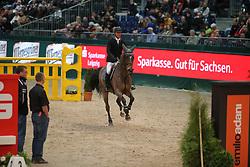 Estermann, Paul, Lancero<br /> Leipzig - Partner Pferd<br /> Eröffnungsspringen Adani<br /> © www.sportfotos-lafrentz.de/Stefan Lafrentz