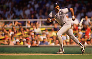 CHICAGO - 1986:  Dave Winfield of the New York Yankees runs the bases during an MLB game versus the Chicago White Sox during the 1986 season at Comiskey Park in Chicago, Illinois. (Photo by Ron Vesely) Subject:   Dave Winfield