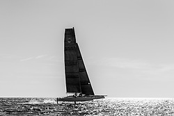 Launch of the GC32 with the new L-foils and T-rudders 14-4-2014, La Grande Motte, France