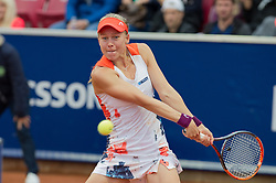 Johanna Larsson (Sweden) at the 2017 WTA Ericsson Open in Båstad, SWEDEN, July 25, 2017. Photo Credit: Katja Boll/EVENTMEDIA.