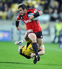Wellington-Rugby, Super 15, Hurricanes v Crusaders