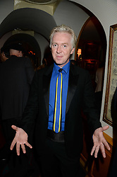 PHILIP TREACY at a 1970's themed party as part of Annabel's 50th anniversary celebrations, held at Annabel's, Berkeley Square, London on 24th September 2013.
