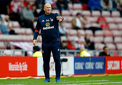 Sunderland manager Simon Grayson - Mandatory by-line: Matt McNulty/JMP - 04/08/2017 - FOOTBALL - Stadium of Light - Sunderland, England - Sunderland v Derby County - Sky Bet Championship
