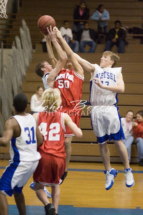 Wetsel Boys vs North Fork.January 9, 2005