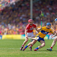 Clare's Podge Collins V Cork's Daniel Kearney and Sean O'Donoghue