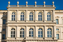 Exterior view of Museum Barberini in Potsdam, Germany