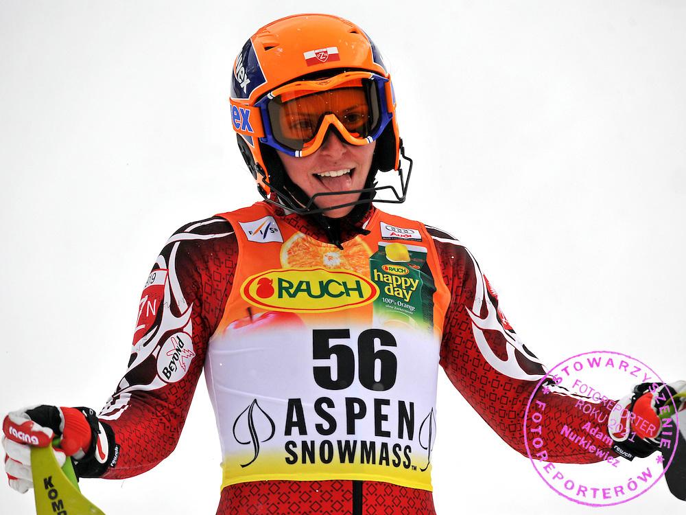 GEPA-3011085683 - ASPEN,COLORADO,USA,30.NOV.08 - SKI ALPIN - FIS Weltcup Aspen, Slalom, Torlauf der Damen. Bild zeigt Agniezka Gasienica Daniel (POL). Foto: GEPA pictures/ Oliver Lerch.FOT. GEPA / WROFOTO.*** POLAND ONLY !!! ***