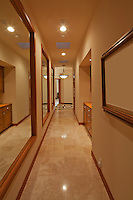 Hallway in luxurious house