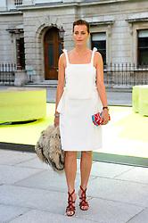 Jasmine LeBon attends the preview party for The Royal Academy of Arts Summer Exhibition 2013 at Royal Academy of Arts on June 5, 2013 in London, England. Photo by Chris Joseph / i-Images.