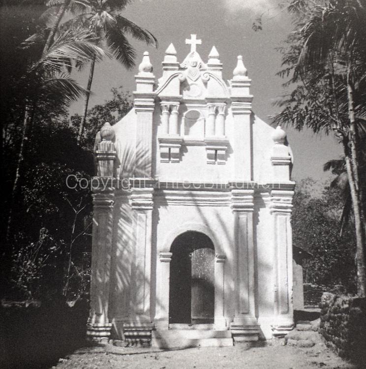 Church. India. Portuguese period.