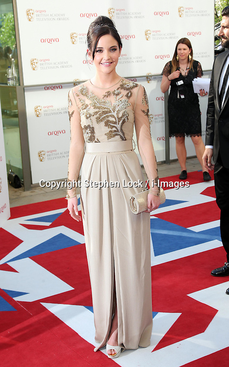 Jacqueline Jossa  arriving at the British Academy Television Awards in London, Sunday , 27th May 2012.  Photo by: Stephen Lock / i-Images