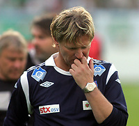 Fotball<br /> Kvalifisering UEFA Europa League<br /> 14.07.2011<br /> Ferencvaros v Aalesund<br /> Foto: Aleksandar Djorovic, Digitalsport<br /> <br /> Kent Bergersen
