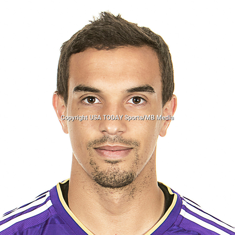 Feb 25, 2016; USA; Orlando City SC player Seb Hines poses for a photo. Mandatory Credit: USA TODAY Sports