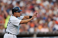 "COPYRIGHT DAVID RICHARD.Ivan ""Pudge"" Rodriguez.Cleveland Indians at Detroit Tigers, July 4, 2007"
