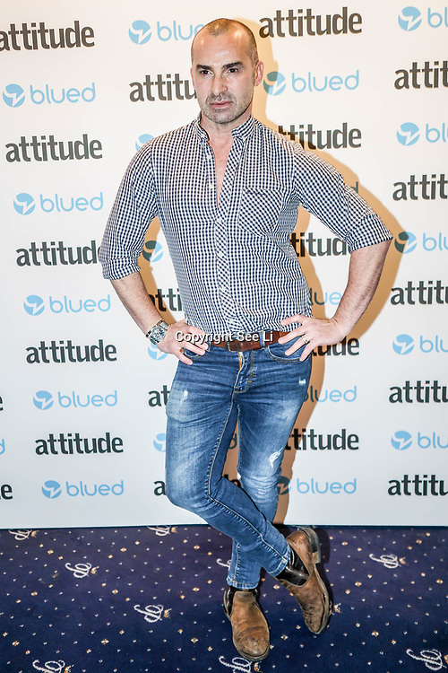 London,England,UK. 27th April 2017. Louie Spence attend the LGBT magazine honours Bachelors of the Year at Café de Paris. by See Li
