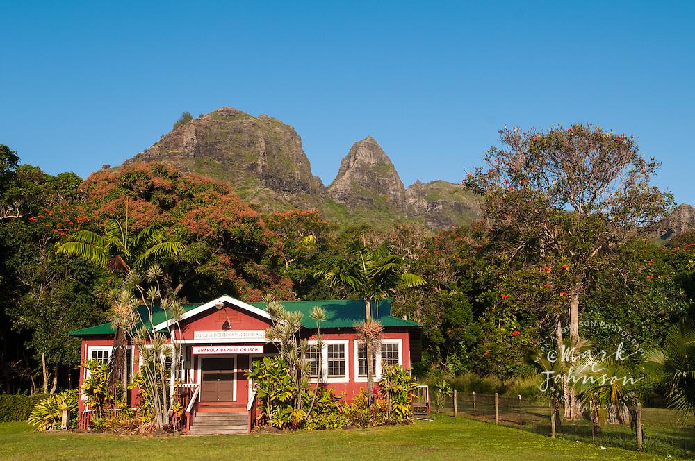 Anahola Baptist Church, Kauai, Hawaii