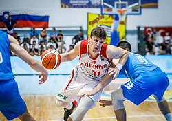 Sengun Alperen of Turkey  during basketball match between National teams of Turkey and Slovenia in the SemiFinal of FIBA U18 European Championship 2019, on August 3, 2019 in Nea Ionia Hall, Volos, Greece. Photo by Vid Ponikvar / Sportida