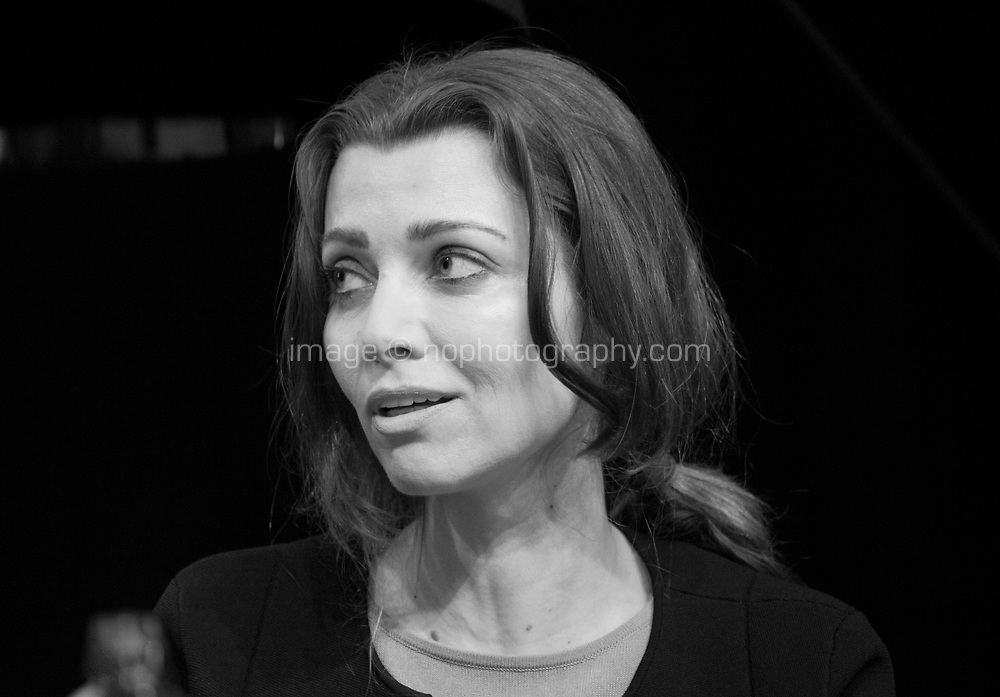Writer Elif Shafak at the 'Is the Novel More Important than ever?' discussion at the Dalkey Book Festival, Dalkey, County Dublin, Ireland, Saturday 17th June 2017. Photo credit: Doreen Kennedy