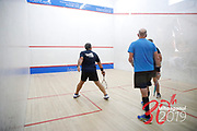 SQUASH<br /> DOUBLES<br /> Downer NZ Masters Games 2019<br /> 20190209<br /> WHANGANUI, NEW ZEALAND<br /> Photo ANNETTE JOHNSTON CMGSPORT<br /> WWW.CMGSPORT.CO.NZ
