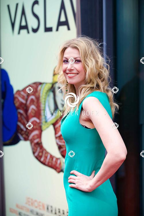 AMSTERDAM - Het toneelstuk Vaslav is in premiere gegaan in theater DeLaMar.  Susan Smit op de rode loper. FOTO LEVIN DEN BOER - PERSFOTO.NU