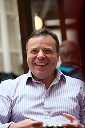 UK ENGLAND LONDON 22JUN16 - British businessman Arron Banks during an interview in Westminster, London.<br />
