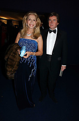LADY COLIN CAMPBELL and PETER COLEMAN at the British Red Cross London Ball held at The Room by The River, 99 Upper Ground, London SE1 on 16th November 2006.<br />