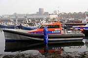 Koningin M&aacute;xima heeft in IJmuiden de Nh1816, een nieuw type reddingboot van de Koninklijke Nederlandse Redding Maatschappij (KNRM) gedoopt.<br /> <br /> Queen M&aacute;xima has inaugurated in IJmuiden Nh1816, a new type of lifeboat of the Royal Dutch Rescue Organisation (KNRM).<br /> <br /> Op de foto / On the photo: