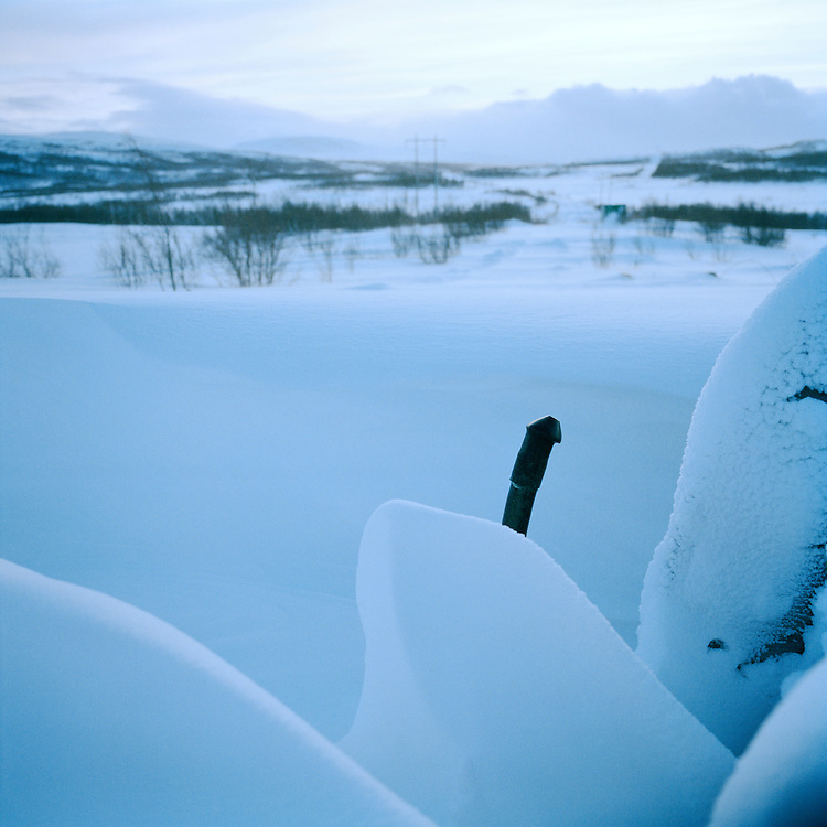 Pissvasshoegdavegen, Finnmark, Norway. . ..Photo by Knut Egil Wang /MOMENT