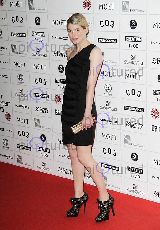 Jodie Whittaker British Independent Film Awards, Old Billingsgate Market, London, UK. 04 December 2011. Contact: Rich@Piqtured.com +44(0)7941 079620 (Picture by Richard Goldschmidt)